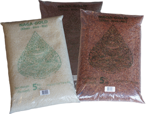 Naga-Gold rice packaging for professionals