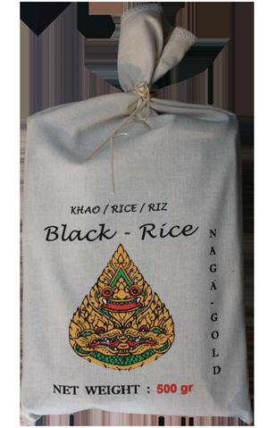riz noir thaï